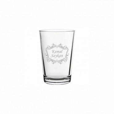Motif İşleme Klasik Su Bardağı