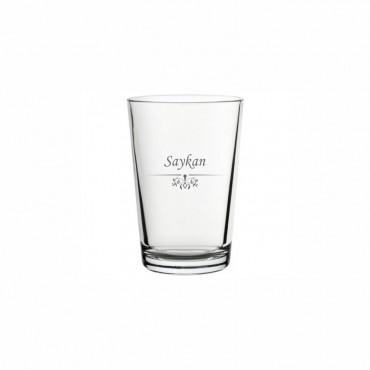 Sade Motifli Klasik Su Bardağı