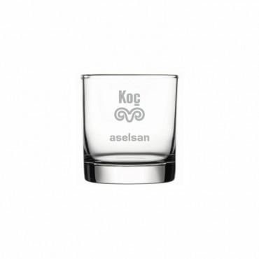 Lokanta ve Kafelere Logo İşleme Viski Kadehi