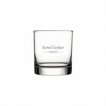 Motif İşleme Klasik Viski Kadehi